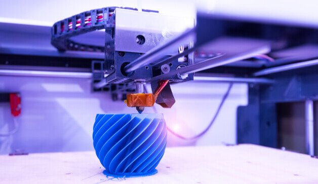 Types of 3d technology in printing